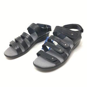 PROPET Women's Size 9.5 Black Aurora Wedge Sandal